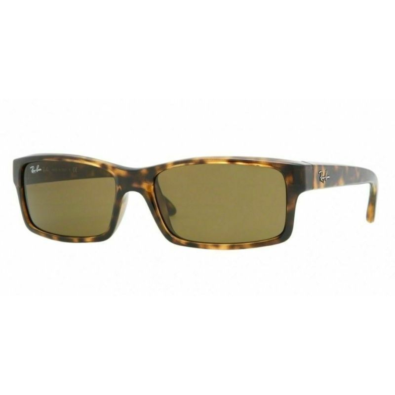 Ray-Ban Unisex Sunglasses RB4151 710 59MM Havana Tortoise Frame, Brown Lenses