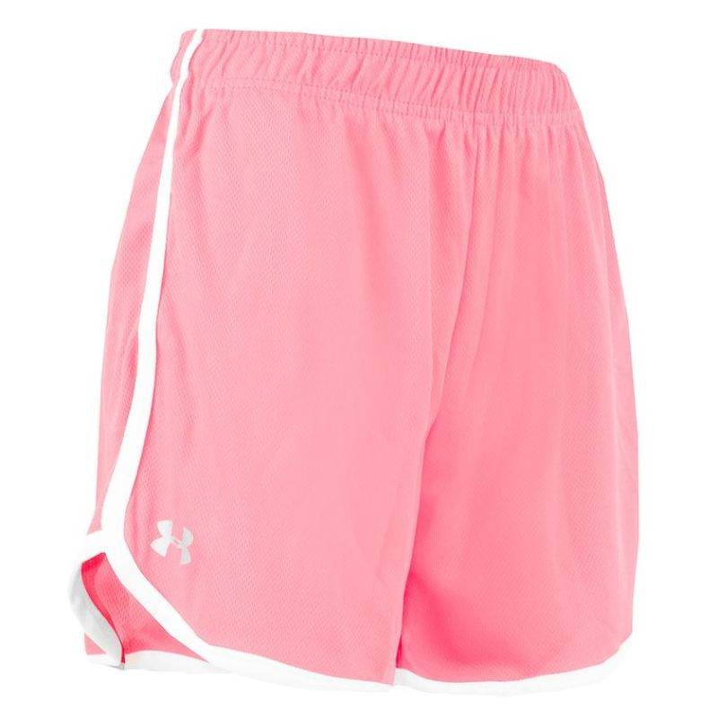 Under Armour Women's Heatgear Running Shorts-Candy Coral-M-Daily Steals