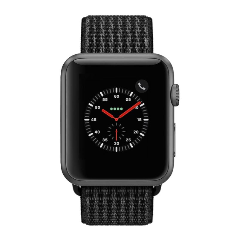 Apple Watch Series 2 38mm, WiFi-Space Gray with Black Sport Loop-Daily Steals