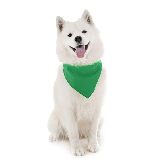 Dog Scarf Bandanas Triangle Bibs - 6 Pack-Green-Daily Steals
