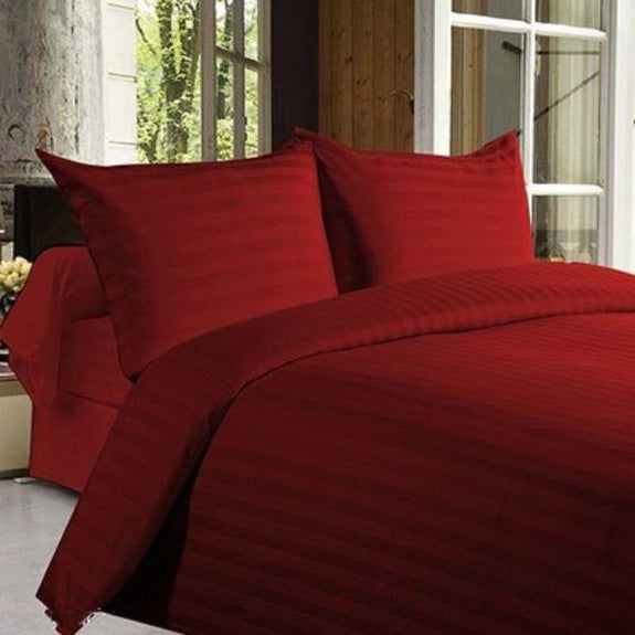 Ultra-Soft Lux Decor Striped 1800 Series Sheets-Daily Steals