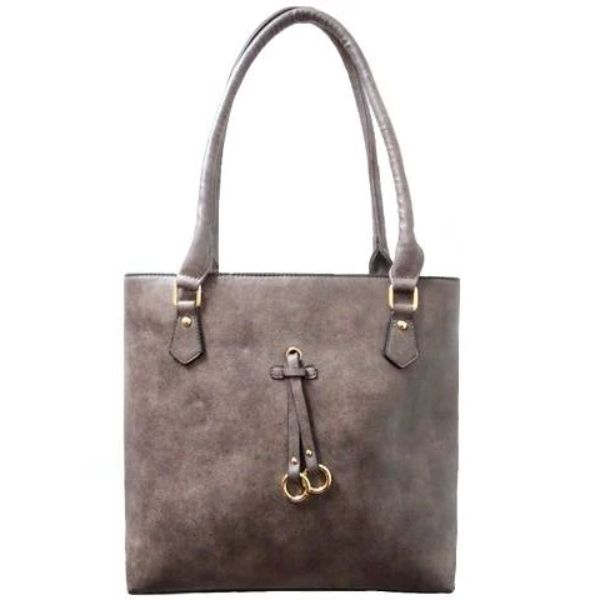 Patterson Leather Emily Tote-Coffee-Daily Steals