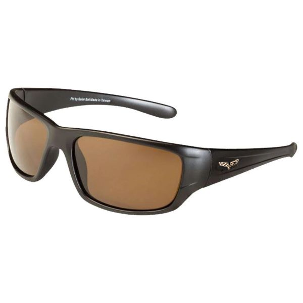 Corvette C6 Polarized Sunglasses El Series 5 Sports Styles by Solar Bat-CV-BD2 Brown Polarized-Daily Steals
