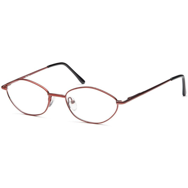 Women's Eyeglasses 51 19 135 Burgundy Metal