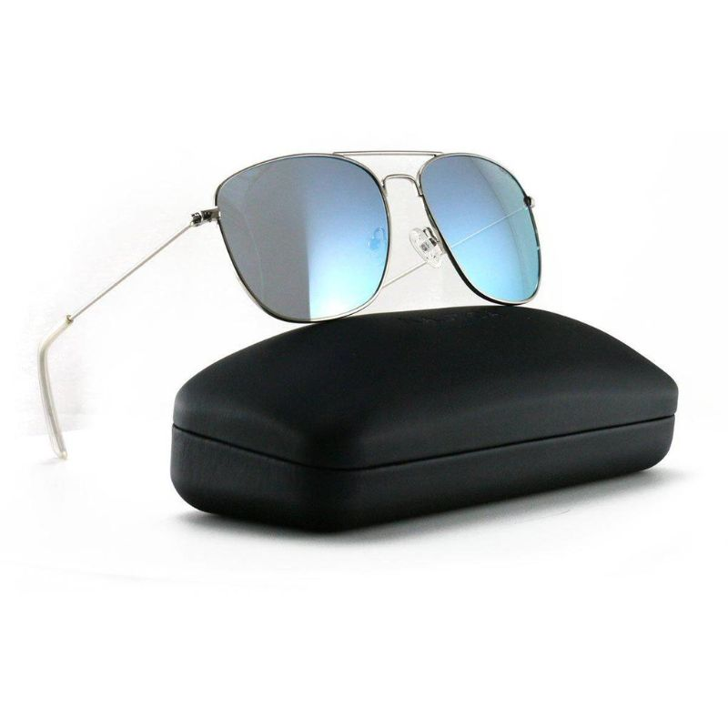 Nautica Men's Sunglasses N4618SP 045 Silver 56 16 140 Polarized