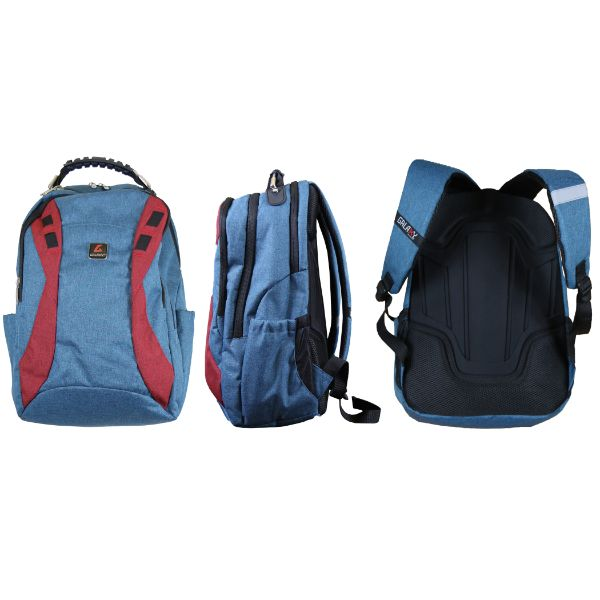 Pro Series Padded Laptop Backpacks-Navy (Performance)-Daily Steals