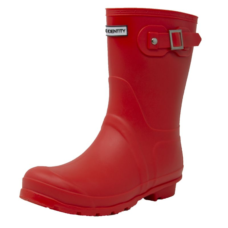 Exotic Identity Original Tall or Short Rain Boots-Red - Short-6M-Daily Steals
