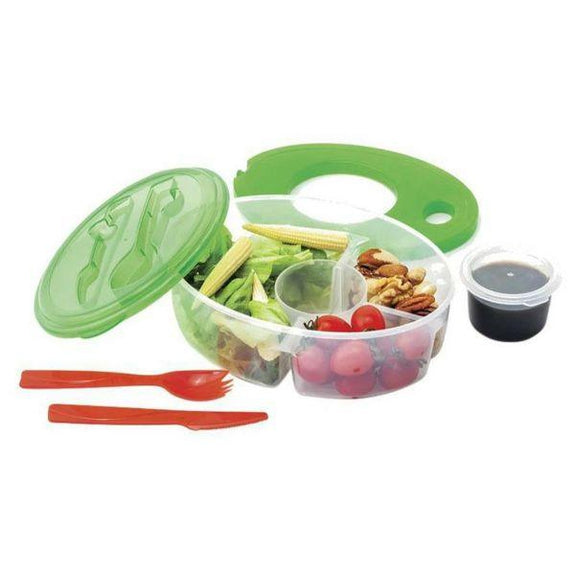 BPA-Free Lunch Container and Utensil Set - 6 Piece-Daily Steals