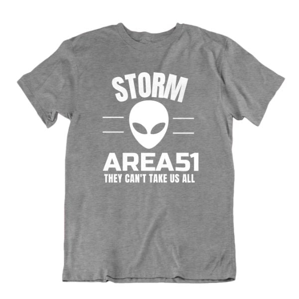 Storm Area 51 They Can't Take Us All T Shirt-Sports Grey-Small-Daily Steals