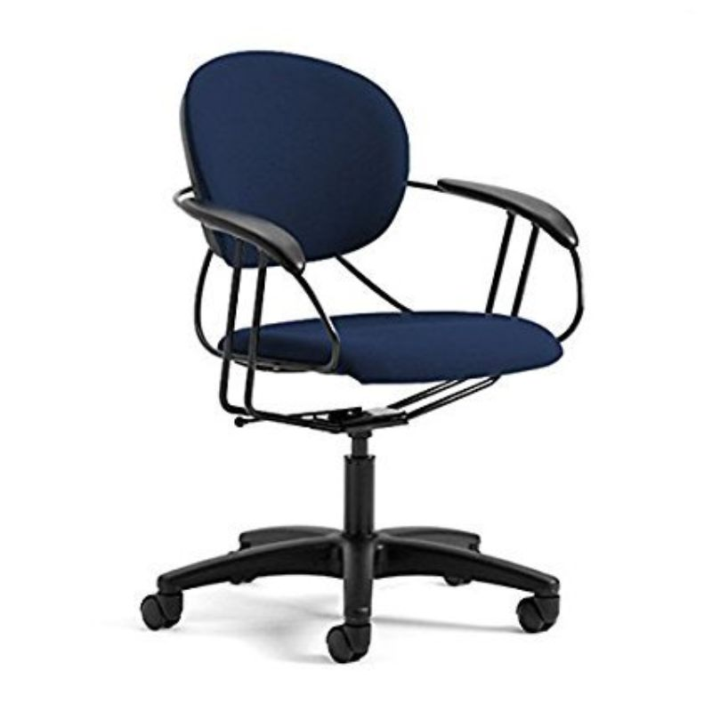 Steelcase Uno Multipurpose Chair - Mid Back-Navy-Daily Steals