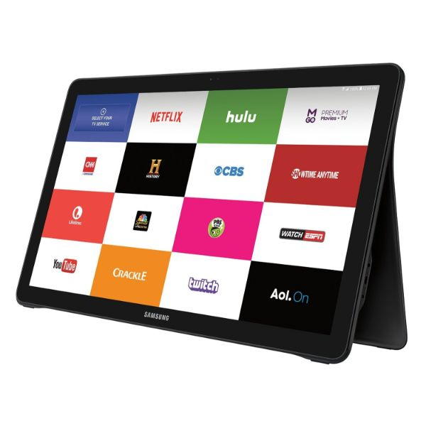 Tablette Samsung Galaxy View 18,4 po - 64 Go, Wi-Fi et vols quotidiens AT & T
