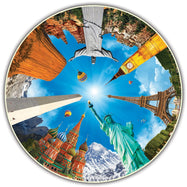 Round Table Puzzle 500 Piece Set - Options Available-Legendary Landmarks-Daily Steals