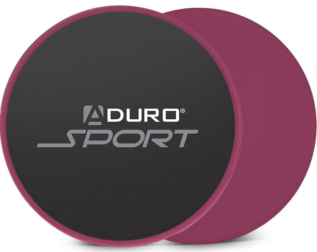 Aduro Exercise Sliders - 2 Pack-Black/Pink-Daily Steals
