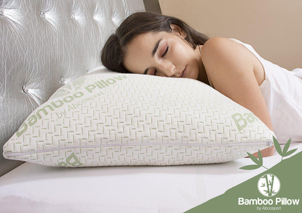 Daily Steals-Shredded Memory Foam, Bamboo Pillow Set - 2 Pack-Home and Office Essentials-