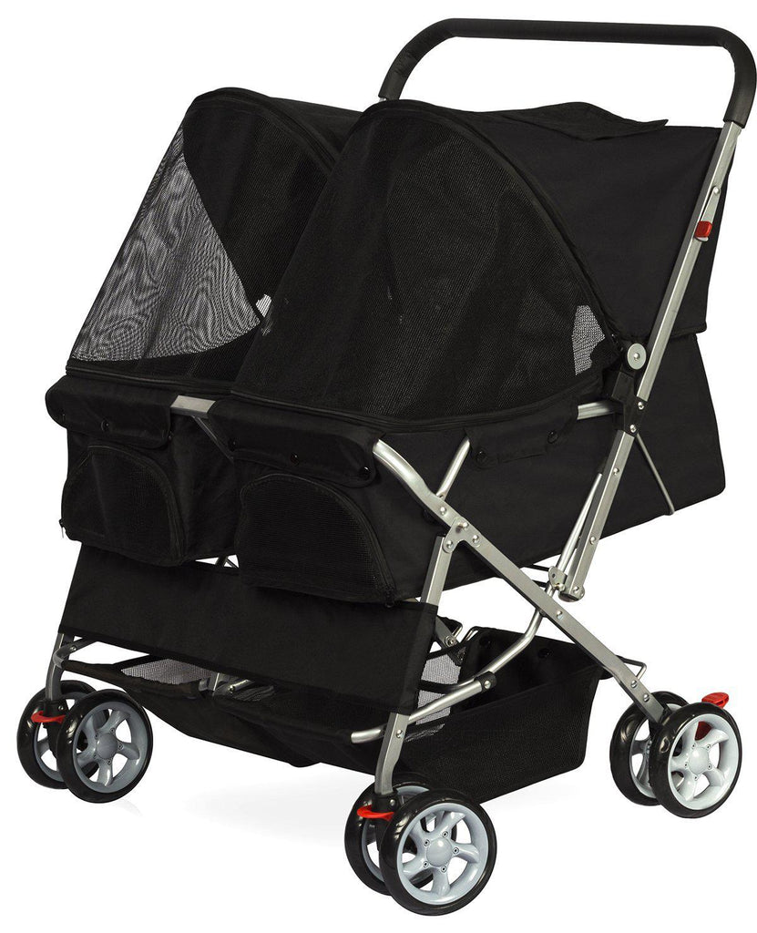 Paws & Pals Twin Pet Stroller - Daily Steals