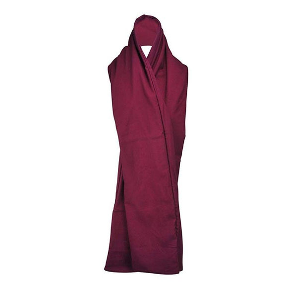 The RainScarf Reversible Waterproof Scarf with Hood and Pockets-Burgundy-Daily Steals