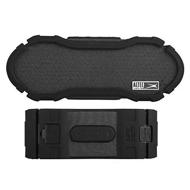 Altec Lansing Omni Jacket NFC Waterproof Bluetooth Speaker-Daily Steals