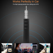 iSunnao Bluetooth 4.1 Receiver with Aux Adapter for Home and Car Sound System Streaming-Daily Steals