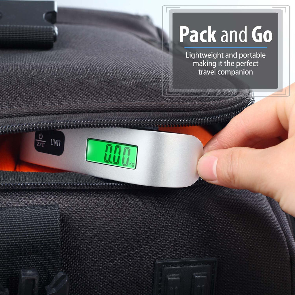 Digital Display Luggage Scale for Travel - Weighs up to 110lb/50kg-Daily Steals