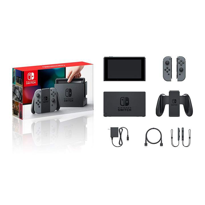 Daily Steals-Nintendo Switch - Gray Joy-Con-VR and Video Games-