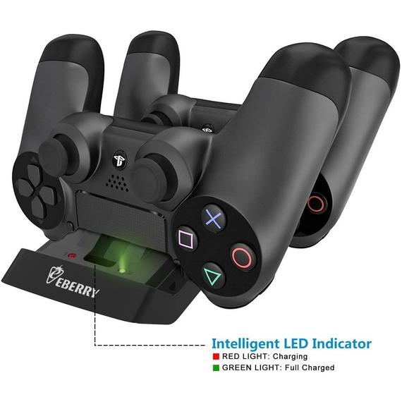 eBerry Dual USB Docking Station - the Perfect Companion for your PS4 Controllers