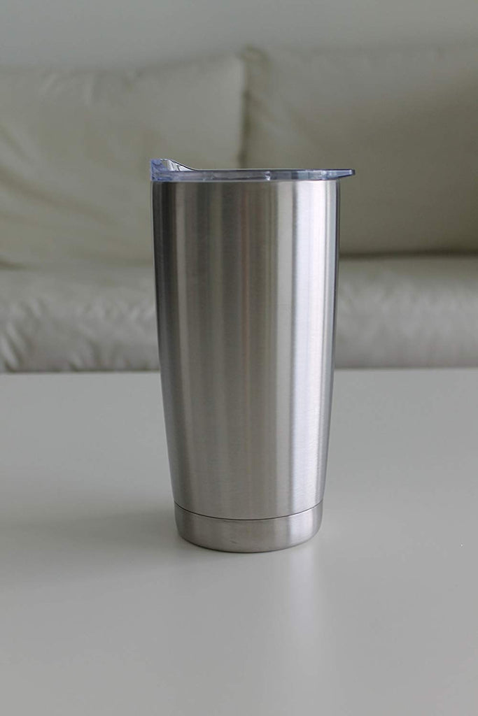 [2-Pack] Double Wall Vacuum-Sealed Stainless Steel Tumbler (20oz and 30oz)-Daily Steals