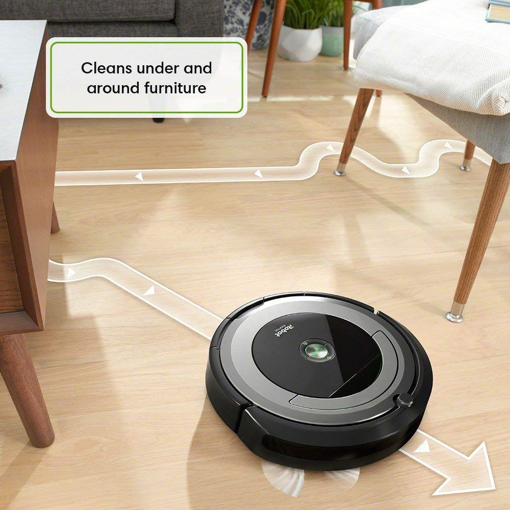 Daily Steals-iRobot Roomba 690 Wi-Fi Connected Vacuuming Robot-Home and Office Essentials-