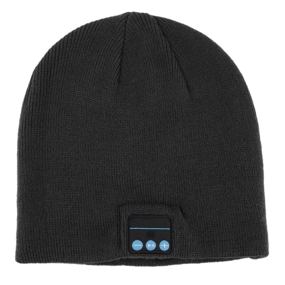 Unisex Wireless Bluetooth Beanie Hat with Comfortable Knit Material-Daily Steals