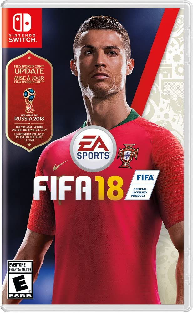 Nintendo Switch FIFA 18 Standard Edition World Cup DLC-Daily Steals