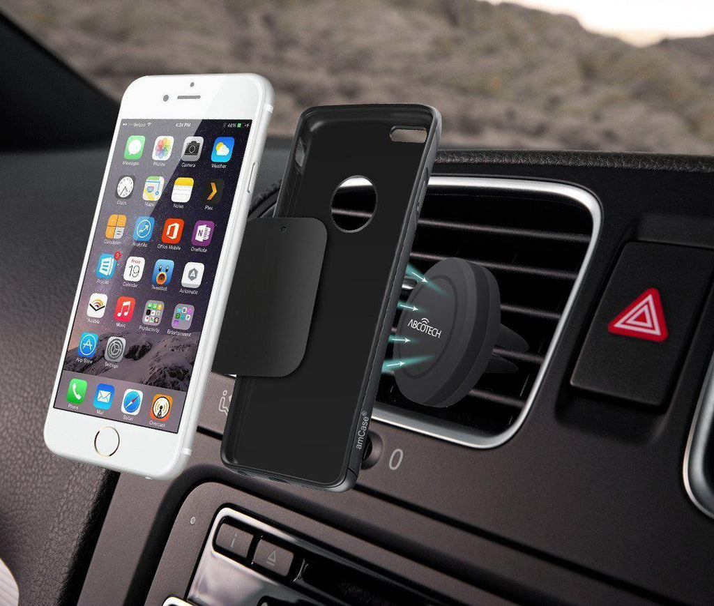 Daily Steals-[2-Pack] Air Vent Smartphone Car Mount w/ Magnetic 1 Step Mounting Technology-Car Accessories-