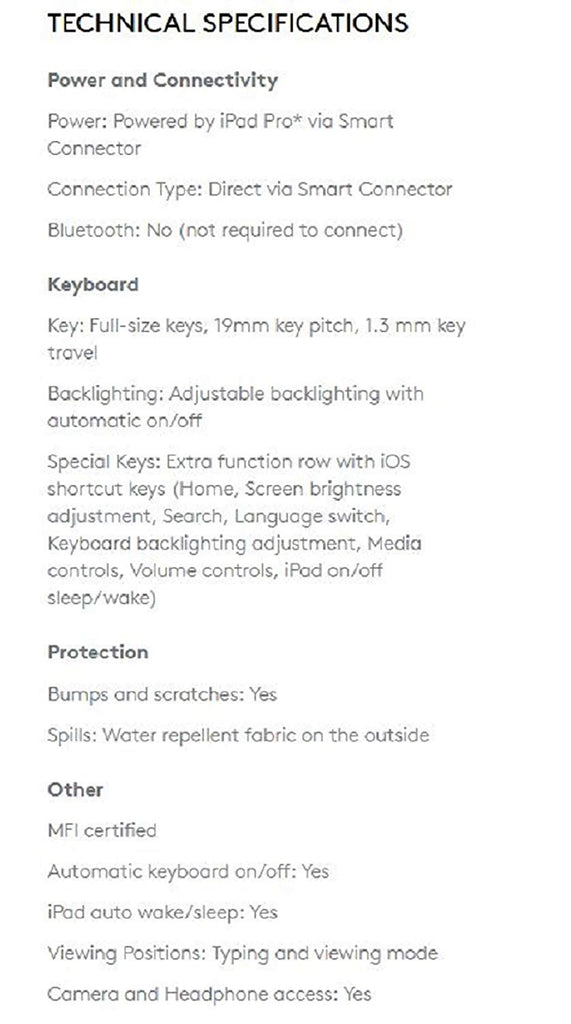 update alt-text with template Daily Steals-Logitech CREATE Backlit Keyboard Case with Smart Connector for iPad Pro 9.7-Computer and Laptop Accessories-