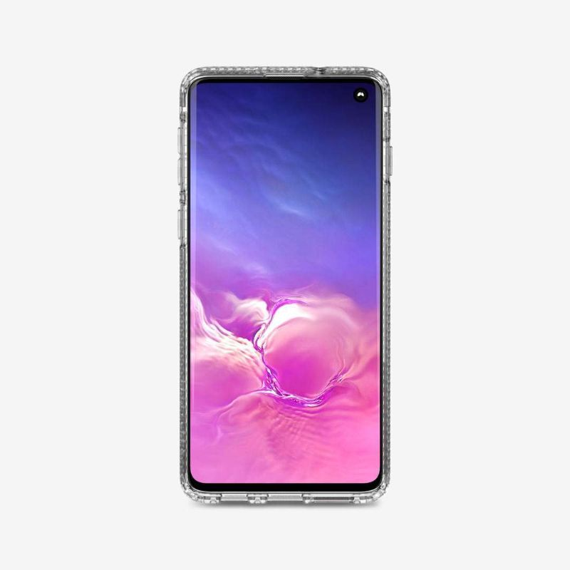 tech21 Pure Clear Protective Case for Samsung Galaxy S10