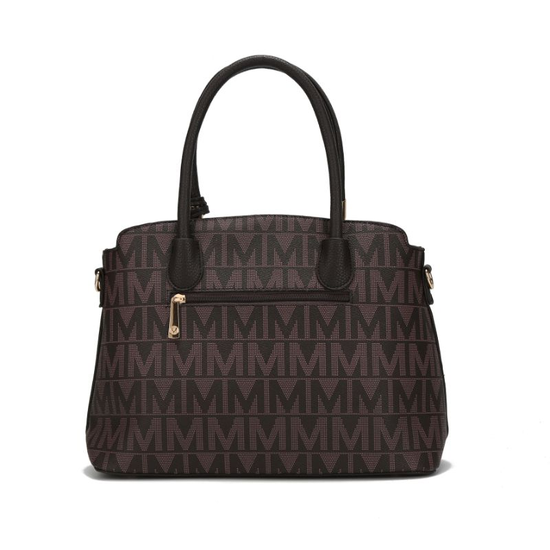 MKF Collection Monee Satchel, Crossbody Bag and Matching Wristlet-Daily Steals