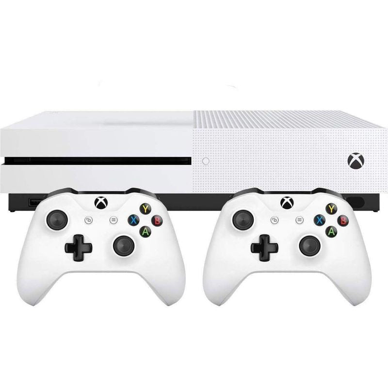Xbox One S Two Controller Bundle (1TB)-Daily Steals