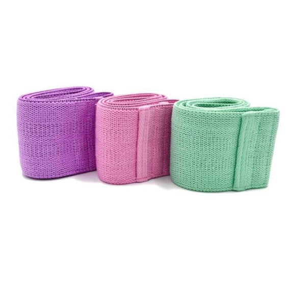 Fabric Resistance Bands - Set of 3-Daily Steals