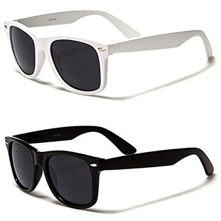 [2-Pack] Mechaly Wayfarer Style Sunglasses