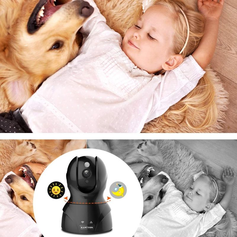 HD Home Wireless Baby/Pet Camera with Cloud Storage-Daily Steals