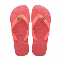 Daily Steals-Havaianas Brasil Coral New Ankle-High Sandal - 6M / 5M-Accessories-6 Womens/ 5 Mens-