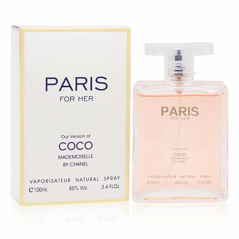 Alternative to COCO MADEMOISELLE BY CHANEL. Eau de Parfum Spray for Women, 3.4 Fl Oz-Daily Steals