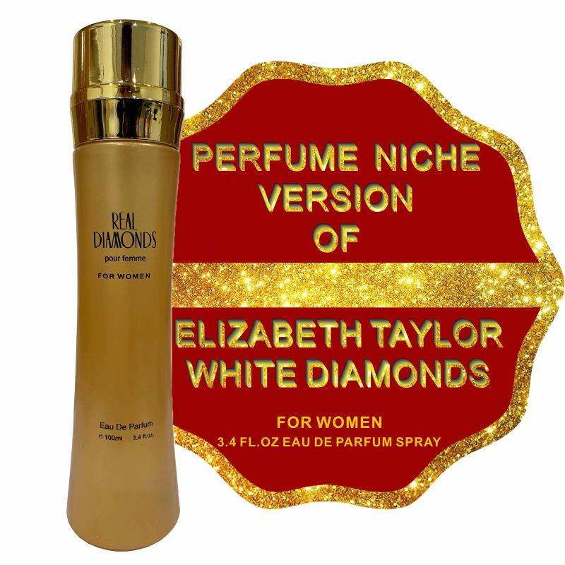 Alternative to WHITE DIAMONDS by ELIZABETH TAYLOR, Eau de Parfum for Women - 3.4 Fl.Oz-Daily Steals