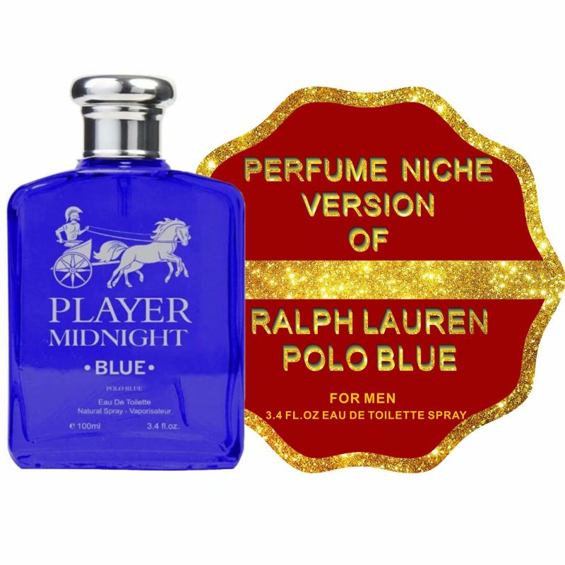 Compared to RALPH LAUREN POLO BLUE for Men, Eau de Toilette Spray - 3.4 Fl Oz-Daily Steals