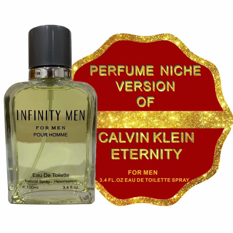 Alternative to ETERNITY MEN, Eau De Toilette Spray for Men - 3.4 Fl.Oz-Daily Steals