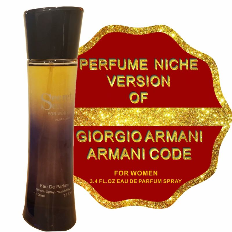 Alternative to ARMANI CODE, Eau de Parfum Spray for Women - 3.4 Fl Oz-Daily Steals