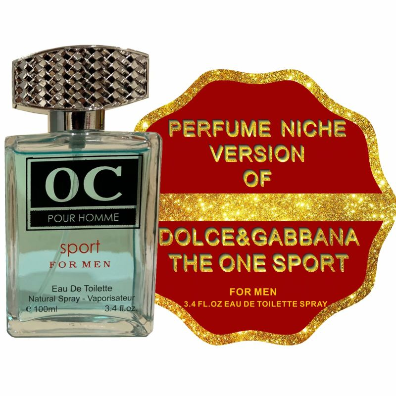 Alternative to THE ONE SPORT by DOLCE&GABBANA, Eau De Toilette Spray for Men - 3.4 Fl.Oz-Daily Steals