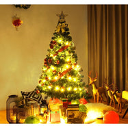 Artificial Christmas Tree Pine Tree with Solid Metal Legs-Daily Steals