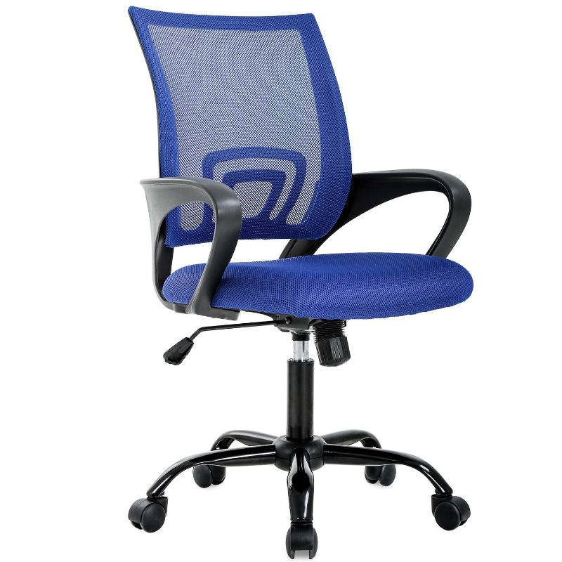 Mesh Ergonomic Office Chair-Blue-Daily Steals