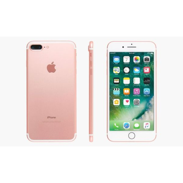 Daily Steals-iPhone 7 Plus/8/8 Plus/X (GSM Unlocked) with MFi-Certified Lightning Cable-Cellphones-iPhone 7 Plus - 128GB - Rose Gold-