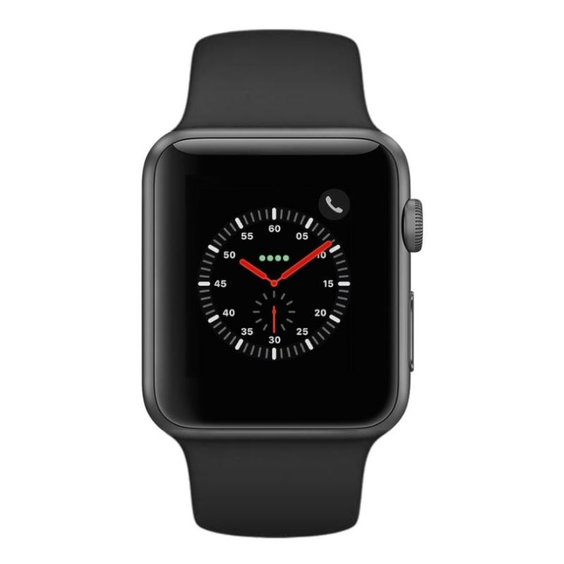 Apple Watch Series 2 38mm, WiFi-Space Gray with Black Sport Band-Daily Steals