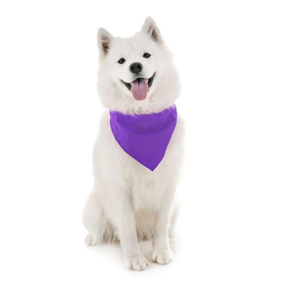 Dog Scarf Bandanas Triangle Bibs - 6 Pack-Purple-Daily Steals