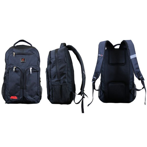 Pro Series Padded Laptop Backpacks-Black (Tech)-Daily Steals